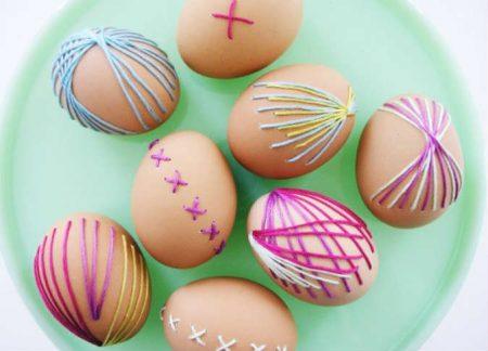 تلوين بيض شم النسيم (3)