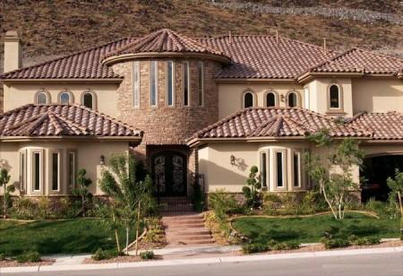 ديكورات واجهات منازل  (1)