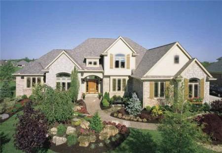 ديكورات واجهات منازل  (2)