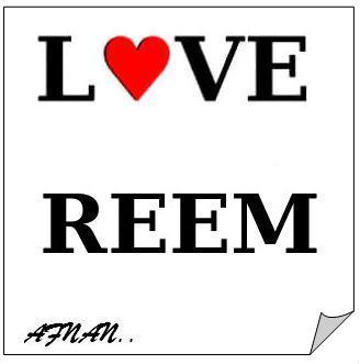 صور مكتوب عليها I Love Reem (2)