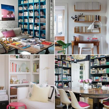 مكتبات جميلة للمنزل جديدة (2)