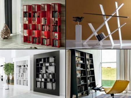 مكتبات مودرن منزلية شيك 2016 (2)