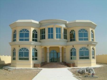 واجهات منازل فخمة وحديثة (4)