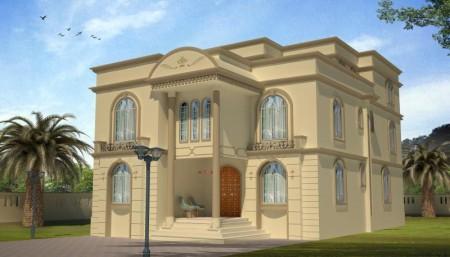 واجهات منازل فخمة وحديثة (5)