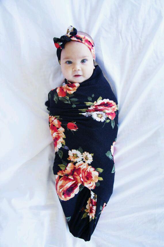 Boho Swaddle Blanket