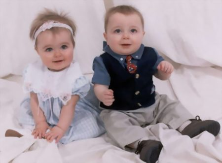 صور اطفال تؤام  (2)