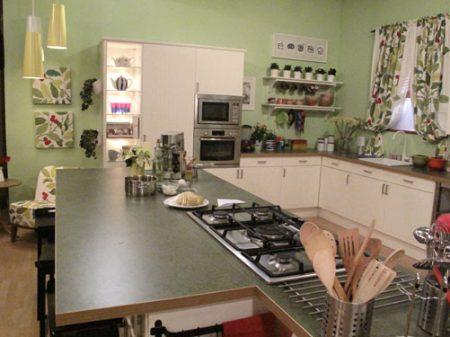 مطابخ جميلة مزينة (1)
