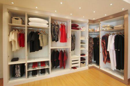 احدث اشكال موضة صور خزانات ملابس  (2)