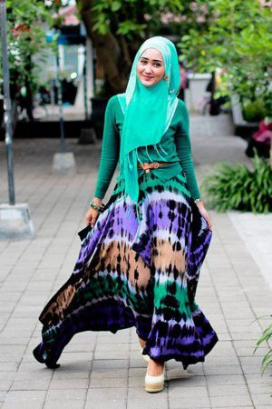 احلي موضة في لبس البنات المحجبات للعيد2016 (2)