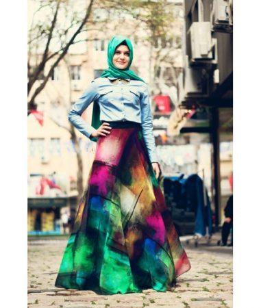 احلي موضة في لبس البنات المحجبات للعيد2016 (4)