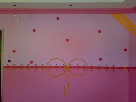 ديكورات نقاشة غرف اطفال  (1)
