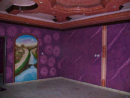 ديكورات نقاشه حوائط  (2)