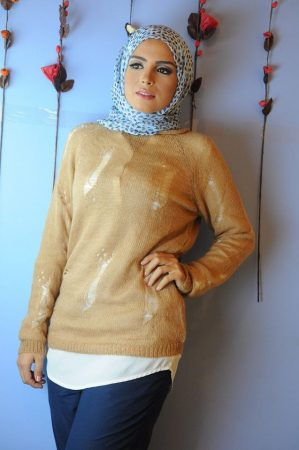 لبس مودرن محجبات2016 (2)