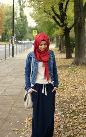 ملابس كاجوال محجبات 2016 (2)