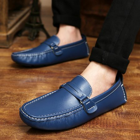 احذية شبابية زرقاء وكحلي (1)