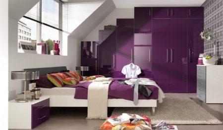 اشكال غرفة نوم بنفسجي (3)