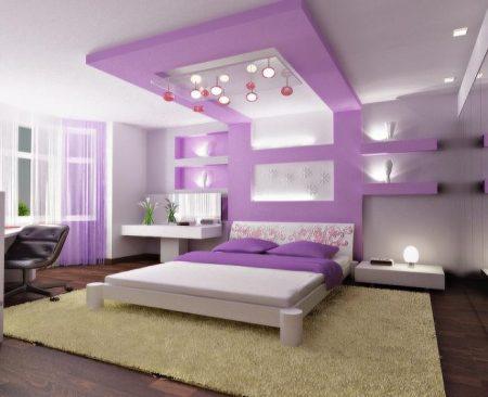 اشكال غرف بنفسجيه (3)