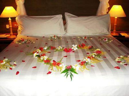 تزيين سرير غرفة النوم (4)