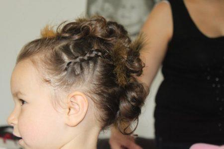 تساريح شعر اطفال بنات شيك (2)