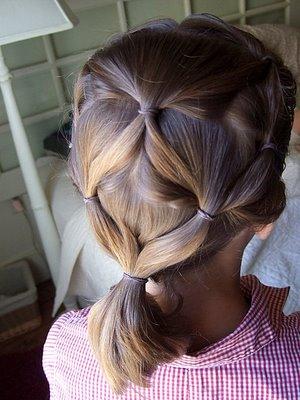 تساريح شعر جميلة وجديدة للبنات (2)