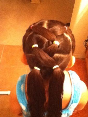 تساريح شعر جميلة وجديدة للبنات (3)