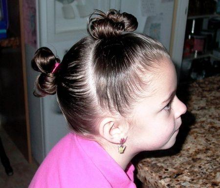 تسريحات شعر جديده للبنات والاطفال (3)