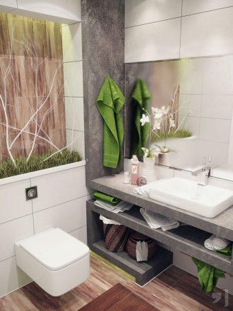ديكورات حمامات شيك (2)