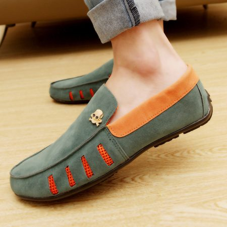 صور احذية صيفي شبابيه فلات مودرن كاجوال (4)