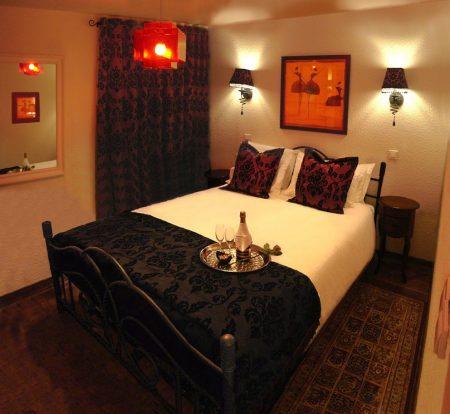 صور افكار لتزيين غرف النوم للعرسان والمناسبات (3)