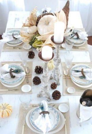 صور طريقة ترتيب سفرة الطعام بطريقة جميلة ومختلفة (2)