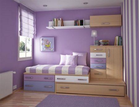 صور غرف نوم بنفسجيه (2)