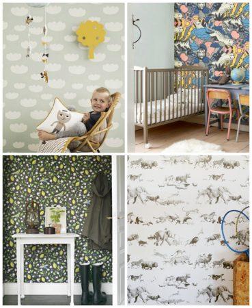 صور ورق حائط لغرف الاطفال باشكال وديكورات مودرن (2)