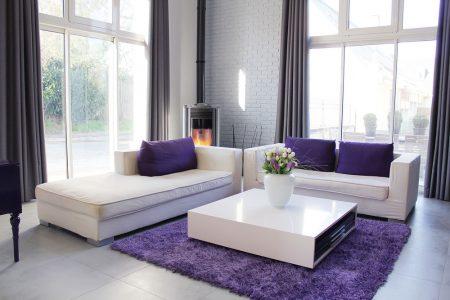 غرف باللون الموف (2)