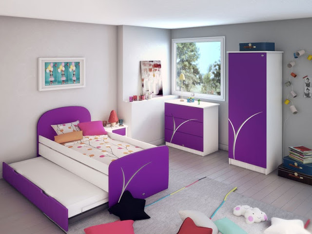 for Chambre de filles decoration