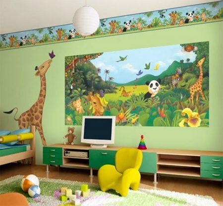 ورق جدران لغرفة الاطفال 2016 (1)