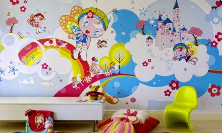 ورق حائط غرف اطفال شيك (1)