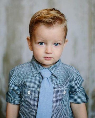 احدث قصات الشعر للأولاد (1)
