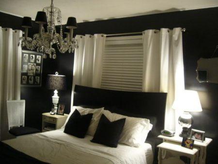 احلي غرف نوم سوداء (3)