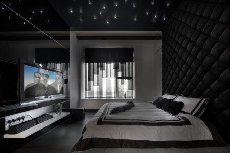 احلي غرف نوم سوداء (4)
