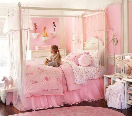 الوان غرف نوم بنات (2)
