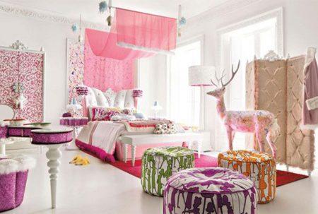 الوان غرف نوم بنات (4)