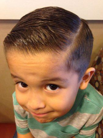 تسريحات شعر اطفال اولاد (1)