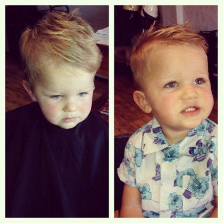 تسريحات شعر اطفال اولاد (4)