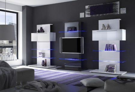 تصاميم مكتبات تلفزيون  (3)