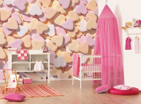 تصميمات غرف بنات (4)