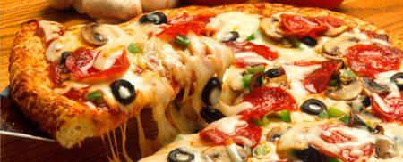 تقديم البيتزا بالصور (2)