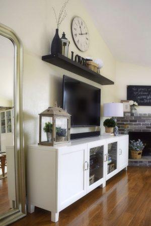 ديكورات تلفزيونات على الحائط  (3)