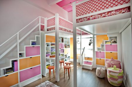 ديكور داخلي غرف بنات اطفال (3)