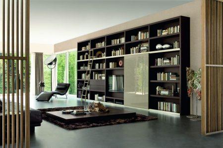ديكور مكتبة تلفزيون  (2)
