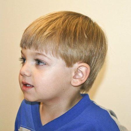 صور احدث قصات شعر اطفال اولاد صغار مواليد  (4)